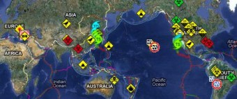 RSOE Disaster Map