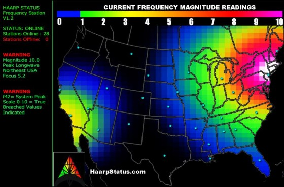 HAARP STATUS AS OF 10-26-12 :: thewatermanfiles.com