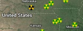 Live Radiation Map