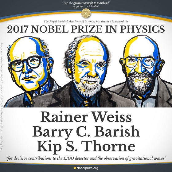 2017 Nobel Prize Winners in Physics